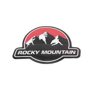Rocky Mountain Logo Car Decal
