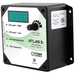 Titan Controls Atlas 3 -  Day/Night CO2 Monitor/Controller