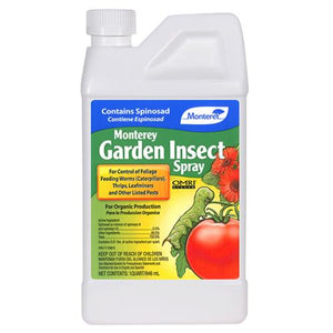 Monterey Insect Spray w/ Spinosad Quart (12/Cs)