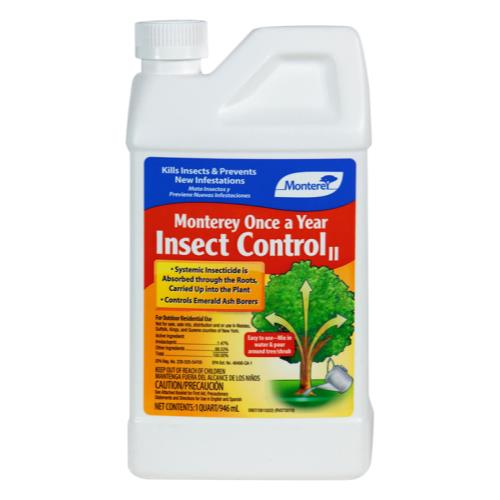 Monterey Once A Year Insect Control II Quart (6/Cs)