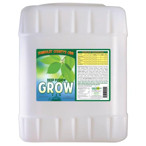 Emerald Triangle Deep Fusion Grow 5 Gallon (1/Cs)