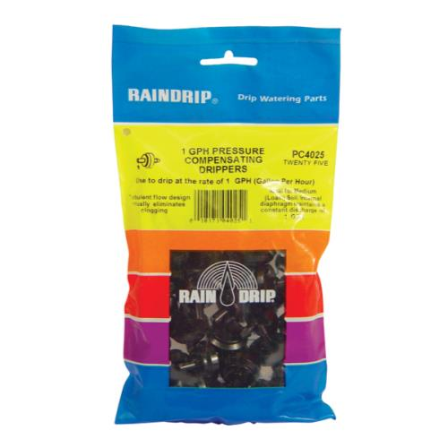 Raindrip 1 GPH Dripper Bag (25/Bag)