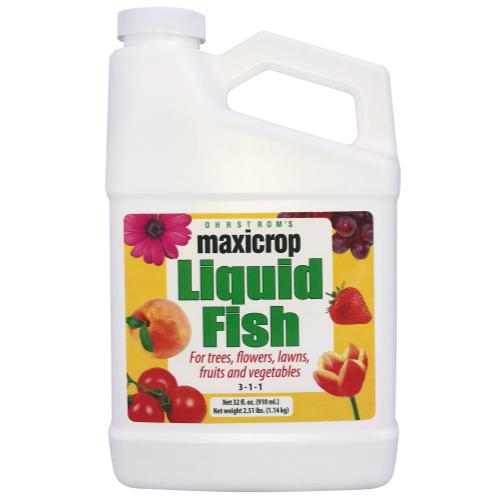 Maxicrop Liquid Fish Quart (12/Cs)