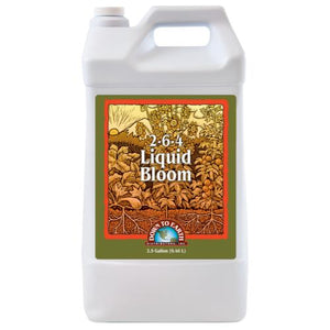 Down To Earth Liquid Bloom 2.5 Gallon (2/Cs)