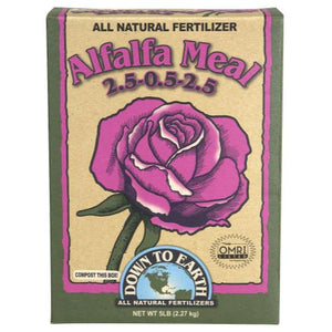 Down To Earth Alfalfa Meal - 5 lb (6/Cs)