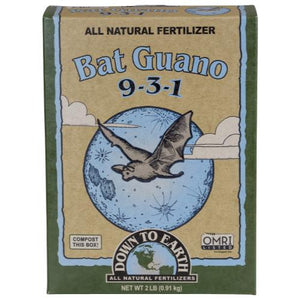 Down To Earth High Nitrogen Bat Guano - 2 lb (6/Cs)