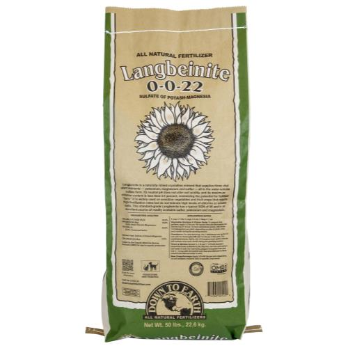 Down To Earth Langbeinite (Sul-Po-Mag) - 50 lb