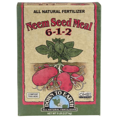 Down To Earth Neem Seed Meal - 5 lb (6/Cs)