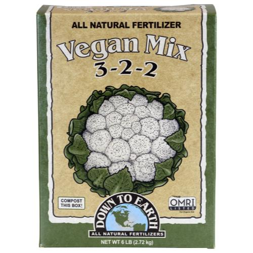 Down To Earth Vegan Mix - 6 lb (6/Cs)