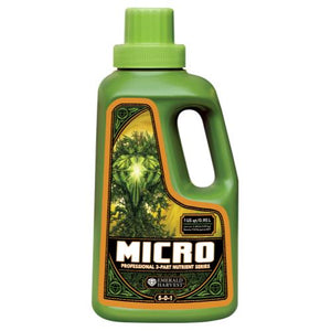 Emerald Harvest Micro Quart/0.95 Liter (12/Cs)