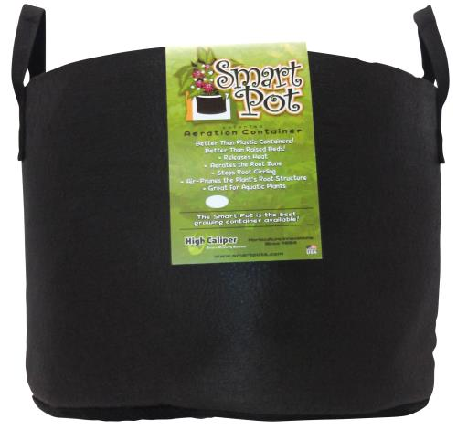 Smart Pot Black 15 Gallon w/ handles (50/Cs)