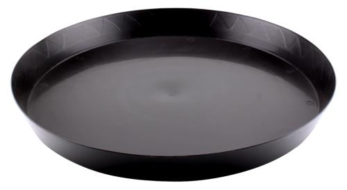 Gro Pro Heavy Duty Black Saucer - 18 in (35/Cs)