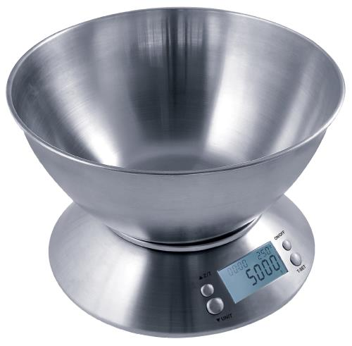 Measure Master 5000g Digital Scale w/ 1.6 L Bowl - 5000g Capacity x 0.5g Accuracy