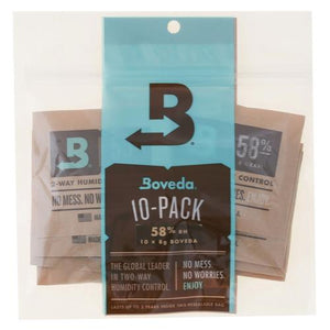 Boveda 8g 2-Way Humidity 58% (10/Pack)