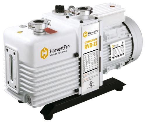 Harvest Pro Industrial RVD-11 Vacuum Pump - 115 Volt 60 Hz 1 Phase