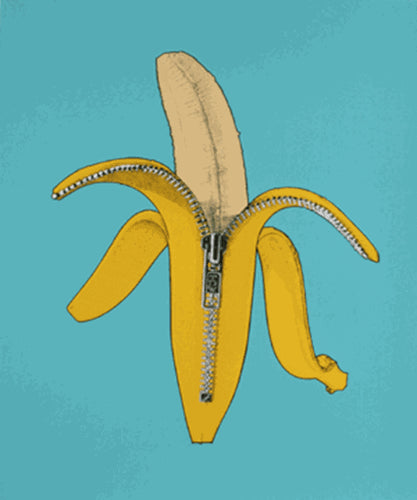 "Ron English, ""Dandy Banana"""