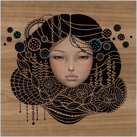 "Audrey Kawasaki,""You Come First"" - Jonathan LeVine Gallery - 1"