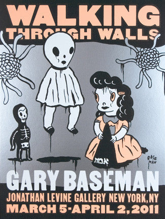 "Gary Baseman,""Walking Through Walls"" - Jonathan LeVine Gallery - 1"
