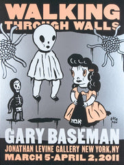 "Gary Baseman,""Walking Through Walls"" - Jonathan LeVine Gallery - 3"