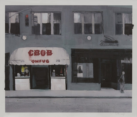 "Brett Amory, ""CBGB (Waiting 243)"""