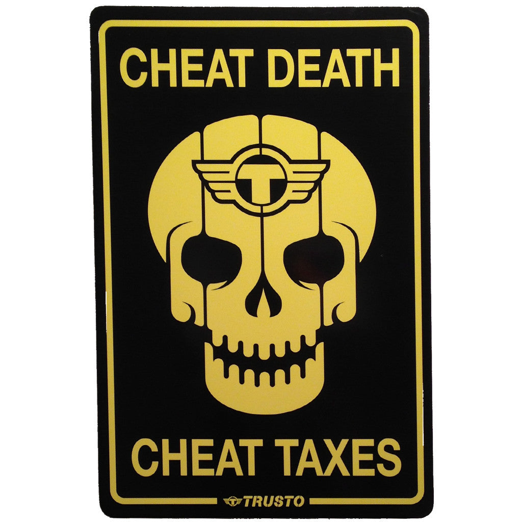 "TrustoCorp, ""Cheat Death Cheat Taxes"" - Jonathan LeVine Gallery - 2"