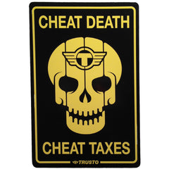 "TrustoCorp, ""Cheat Death Cheat Taxes"" - Jonathan LeVine Gallery - 1"