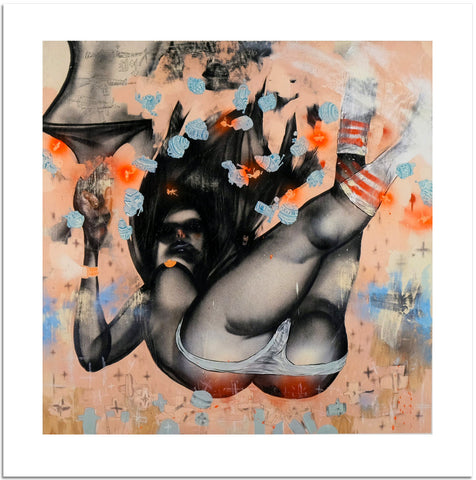 "David Choe, ""Falling for Grace"" - Jonathan LeVine Gallery"