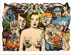"Ron English & Daniel Johnston,""Untitled"" - Jonathan LeVine Gallery - 1"