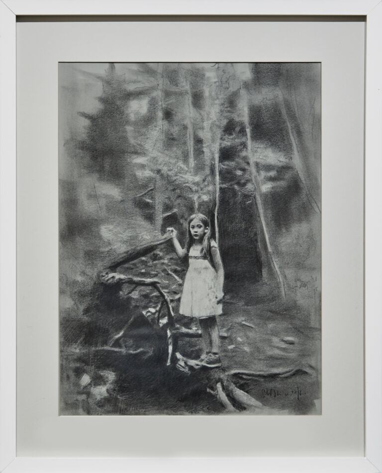 "Eloy Morales, ""Alayna in the Forest"""