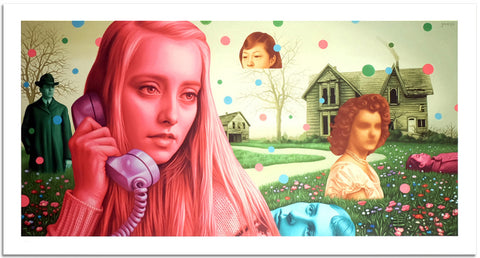 "Alex Gross, ""The Bends"" - Jonathan LeVine Gallery"