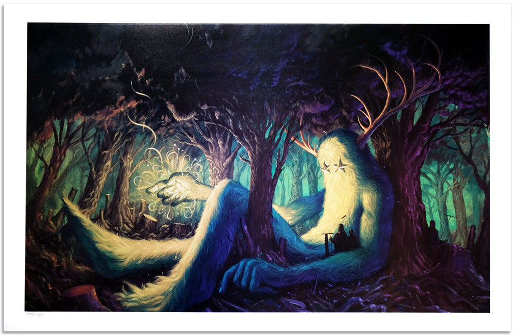 "Jeff Soto, ""The Seeker"" - Jonathan LeVine Gallery"