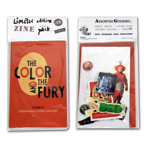 "Jonathan Levine Gallery,""The Color And The Fury: Zine Pack"" - Jonathan LeVine Gallery"