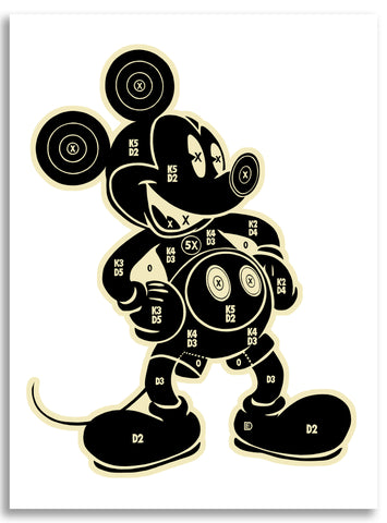 "Dylan Egon, ""Mickey Target"" - Jonathan LeVine Gallery"
