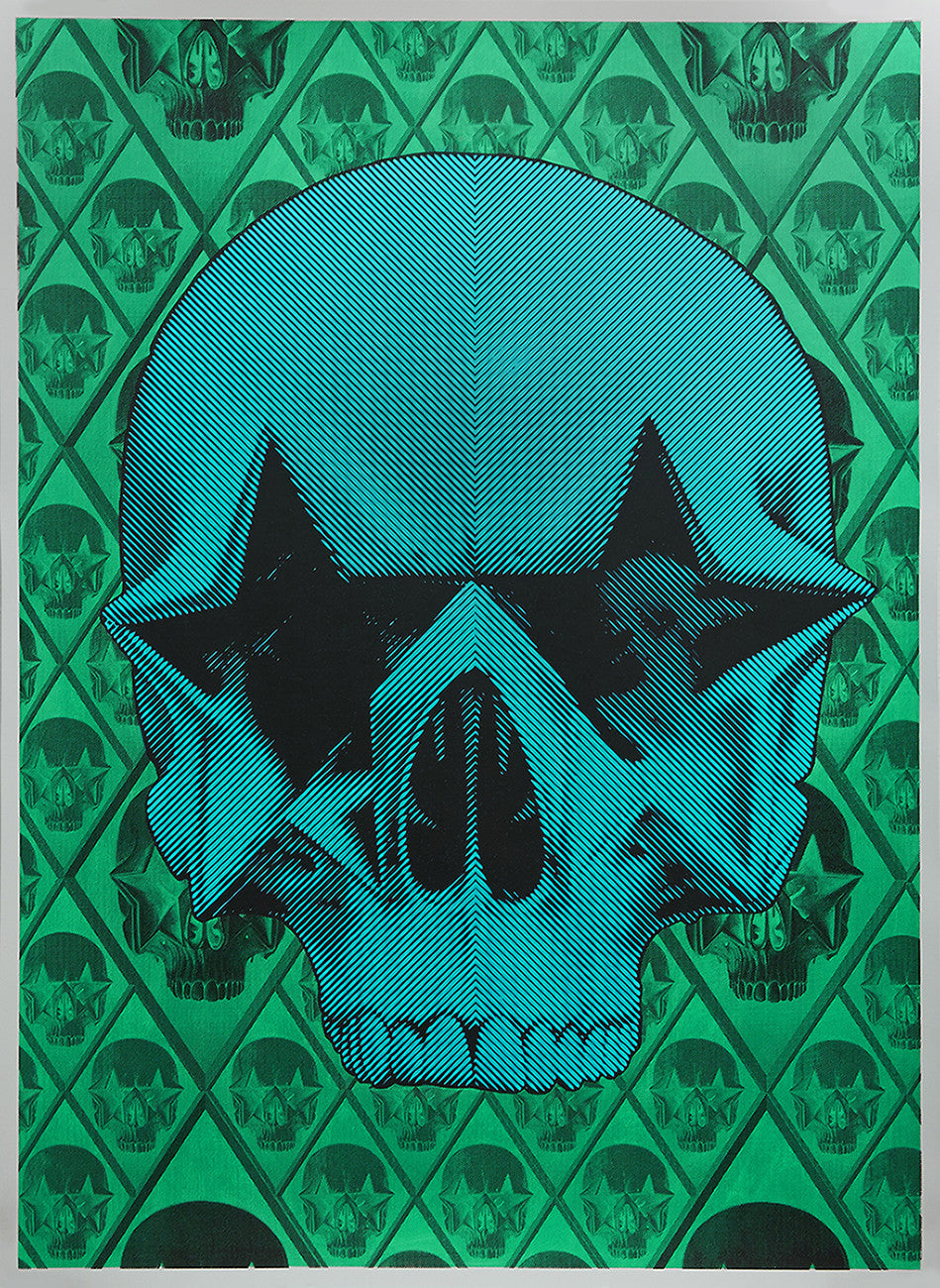 "Ron English, ""Starskull Positive"" HPM - Jonathan LeVine Gallery - 2"