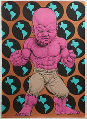 "Ron English, ""Texas Temper Tot"" HPM - Jonathan LeVine Gallery - 4"