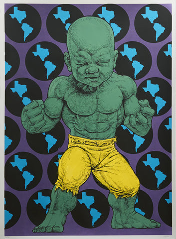 "Ron English, ""Texas Temper Tot"" HPM - Jonathan LeVine Gallery - 1"