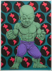 "Ron English, ""Texas Temper Tot"" HPM - Jonathan LeVine Gallery - 3"
