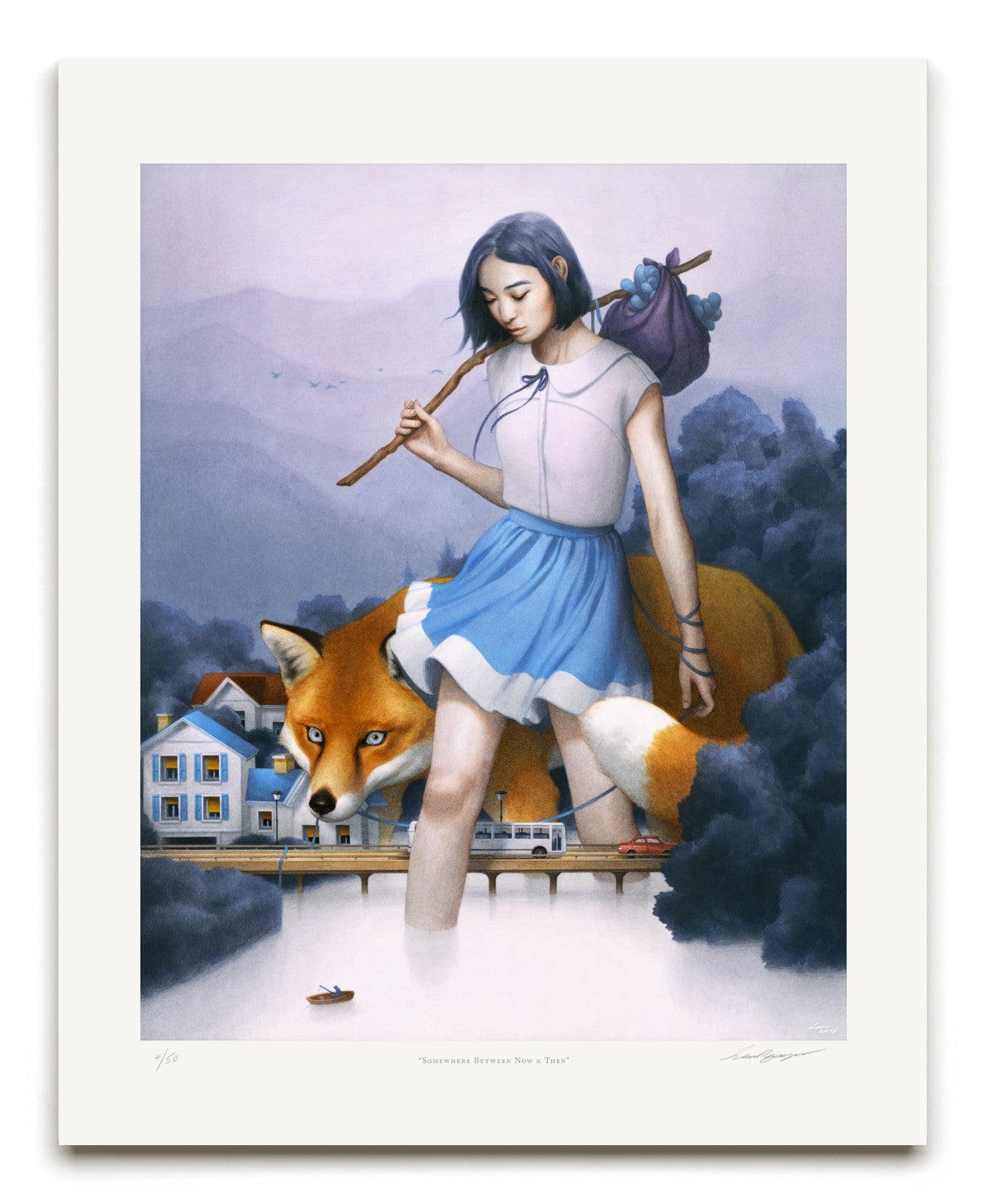 "Tran Nguyen, ""Somewhere Between Now & Then"" - Jonathan LeVine Gallery - 2"