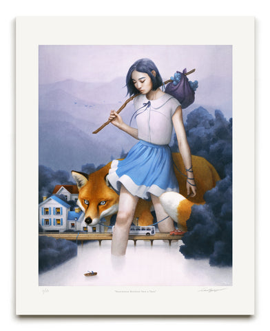 "Tran Nguyen, ""Somewhere Between Now & Then"" - Jonathan LeVine Gallery - 1"
