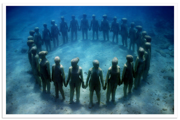 "Jason DeCaires Taylor, ""Vicissitudes Ring"" - Jonathan LeVine Gallery"