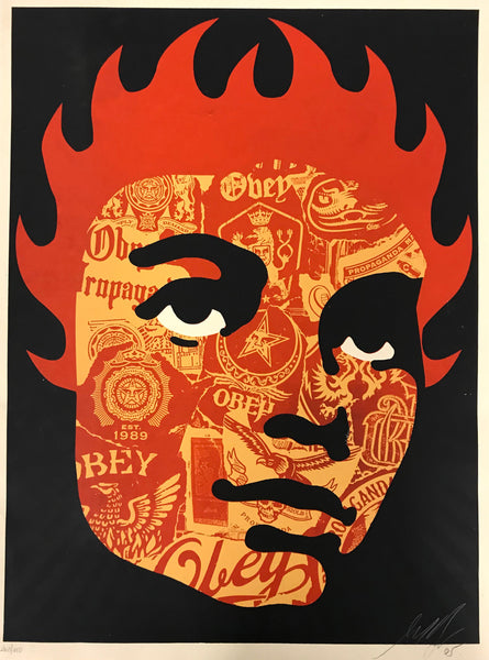 "Shepard Fairey, ""Obey Collage Girl"""