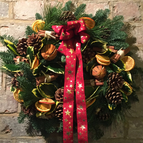 Standard or luxury door wreath