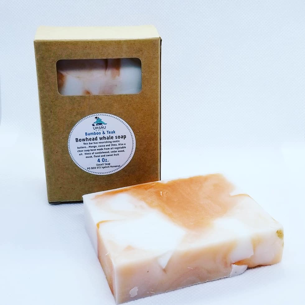 Bowhead Bamboo & Teak hand and body soap