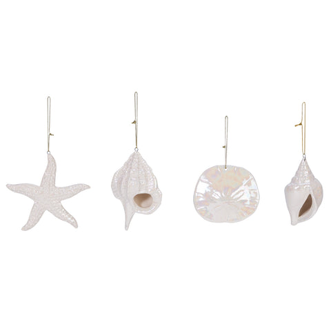 SHELL PEARLY ORNAMENT ASSORTED