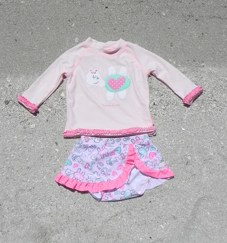 BABY GIRL SWIM SKIRT