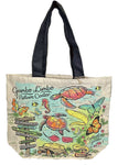 GLNC HAND PAINTED SHOPPER TOTE