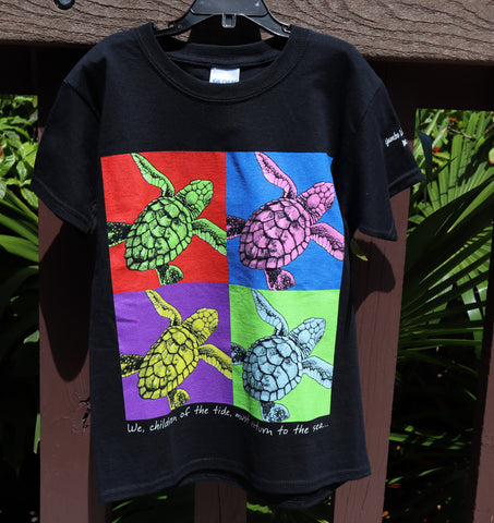 IMAGINE SEA TURTLES KIDS TEE