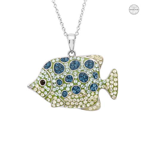 FISH CRYSTAL NECKLACE