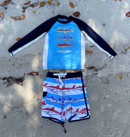 BOYS SHARK WETSHIRT