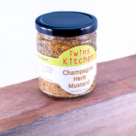 Champagne Herb Mustard - Twins Kitchen